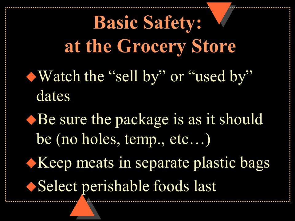 Basic Safety: at the Grocery Store