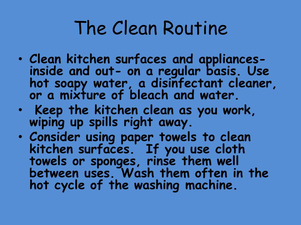 The Clean Routine