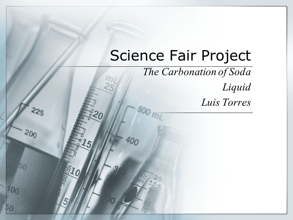 The Carbonation of Soda Liquid Luis Torres