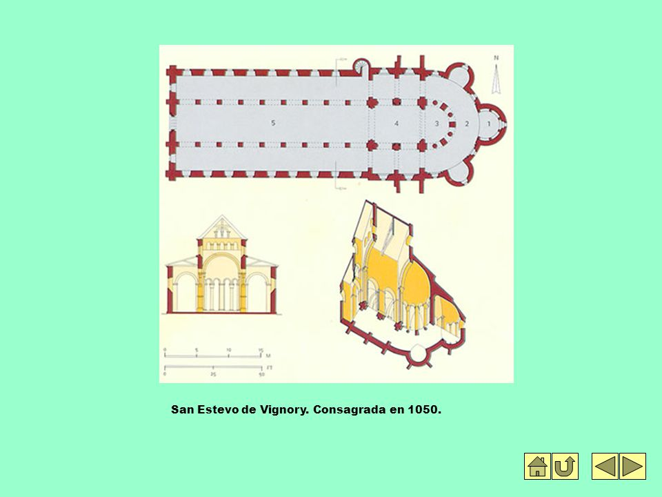 San Estevo de Vignory. Consagrada en 1050.