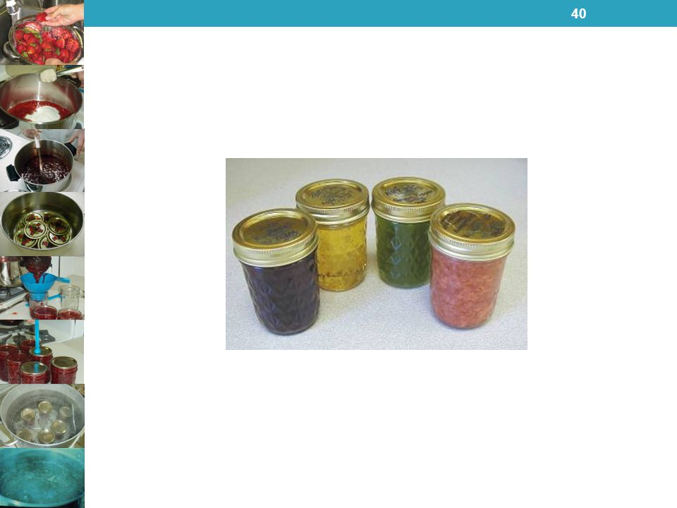 Nothing takes you back to warm, sunny days of summer and fall like the sweet taste of homemade jams, jellies, preserves and butters. Try your hand at preserving some today. You can find many recipes in So Easy To Preserve or on our website at www.homefoodpreservation.com.