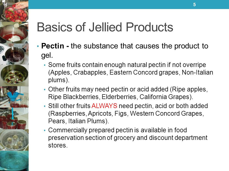 Basics of Jellied Products