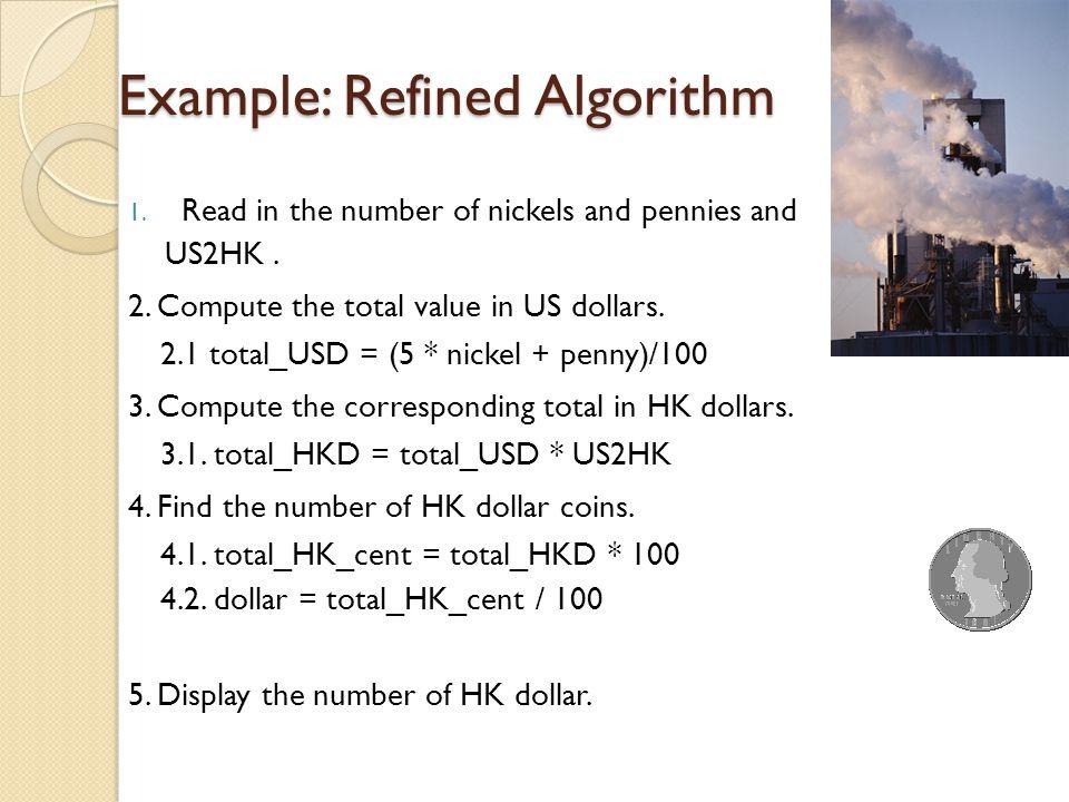 Example: Refined Algorithm