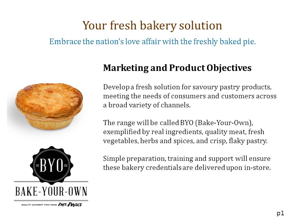 Your fresh bakery solution
