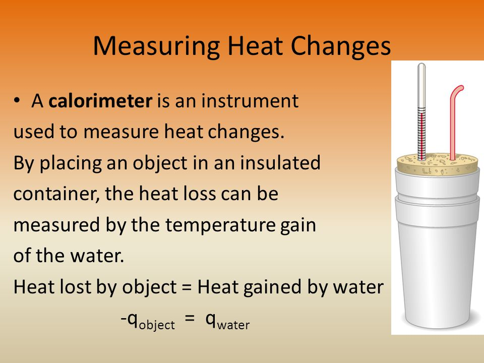 Measuring Heat Changes