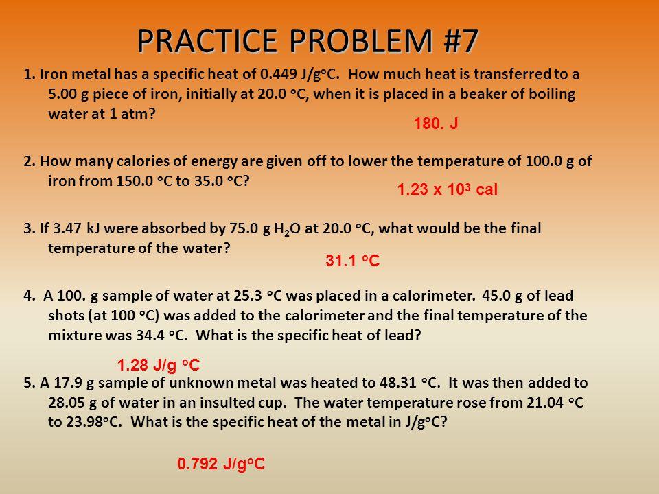 PRACTICE PROBLEM #7