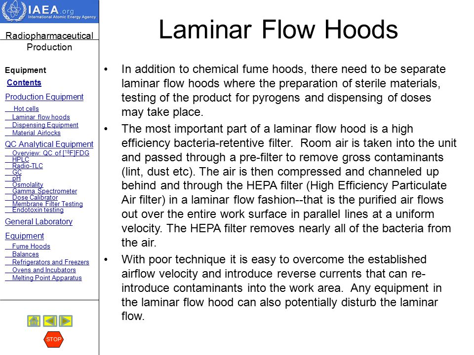 Laminar Flow Hoods