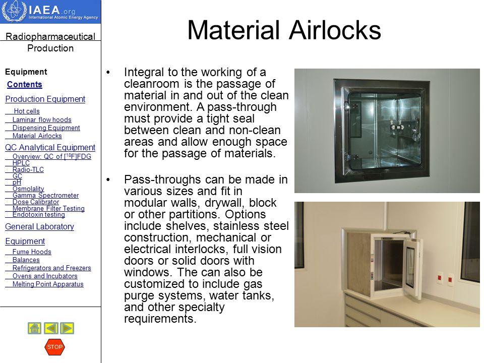 Material Airlocks