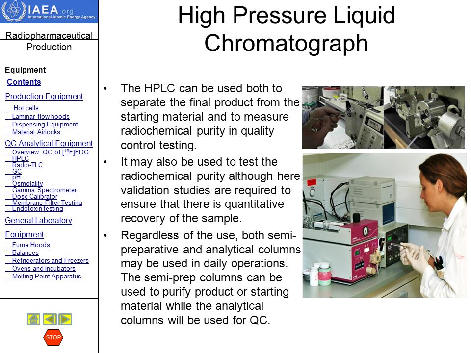 High Pressure Liquid Chromatograph