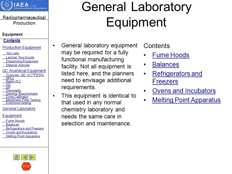 General Laboratory Equipment