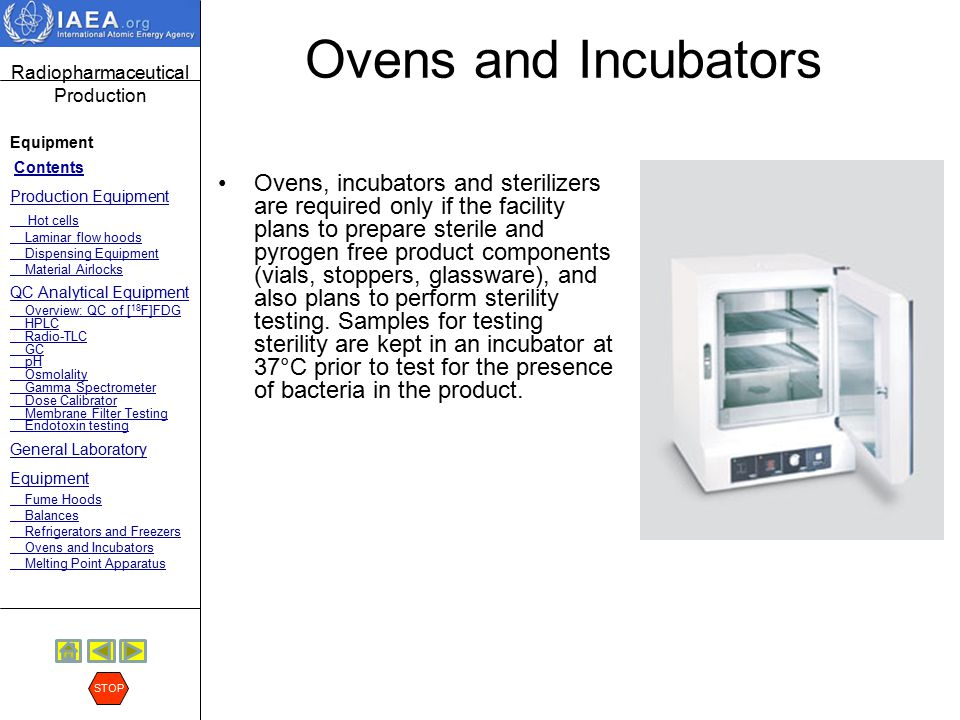 Ovens and Incubators
