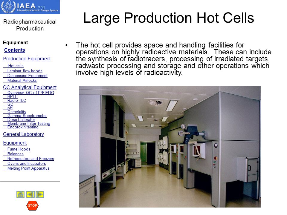 Large Production Hot Cells