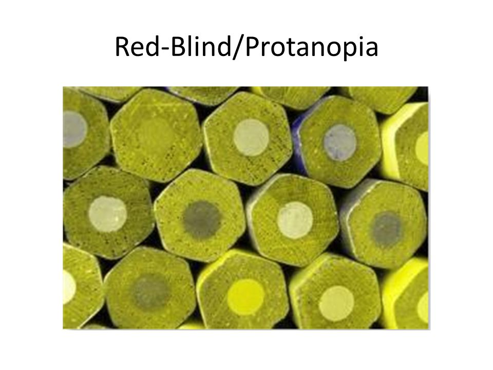 Red-Blind/Protanopia