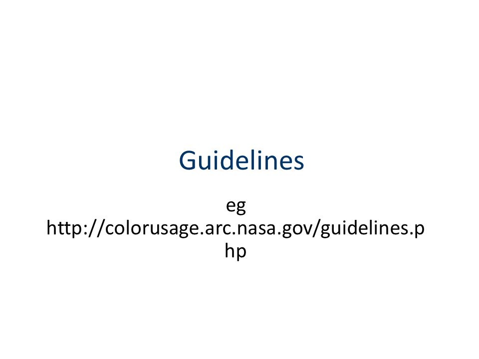 eg http://colorusage.arc.nasa.gov/guidelines.php