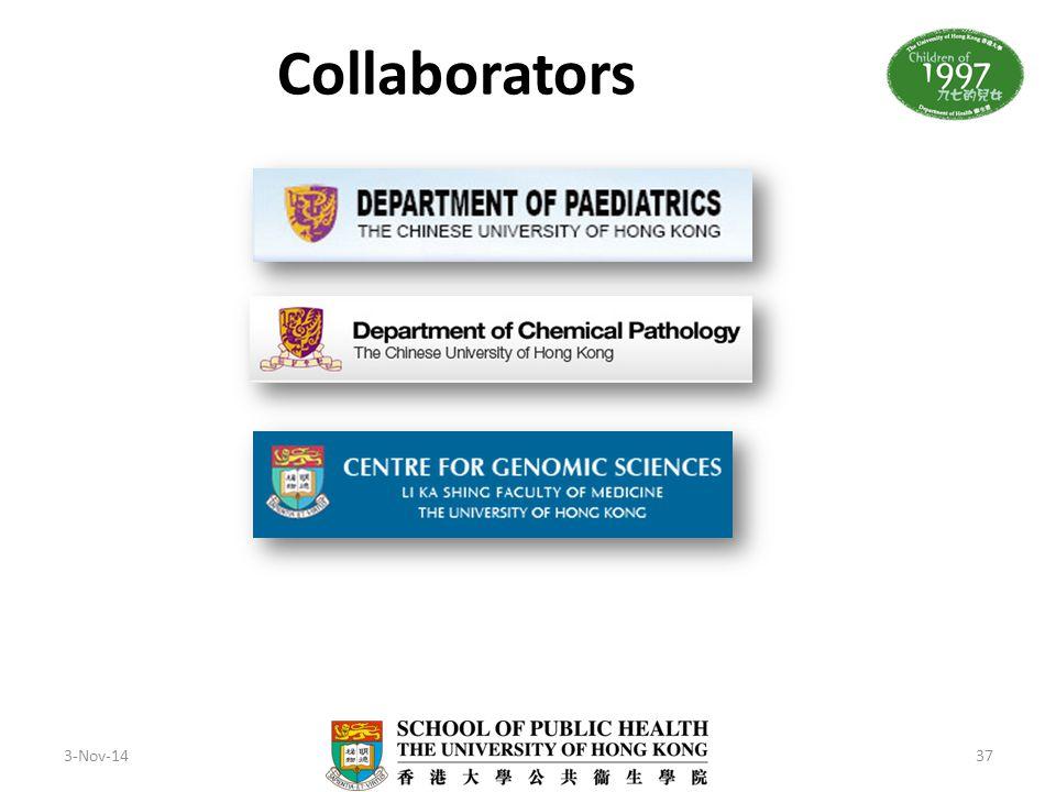 Collaborators 3-Nov-14