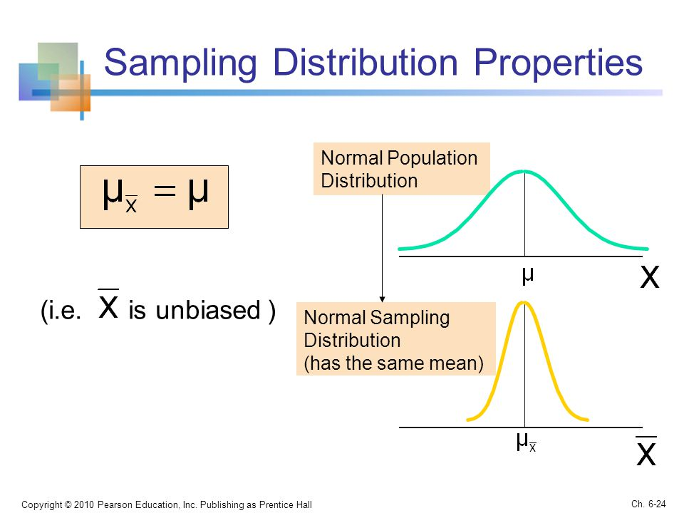 Sampling Distribution Properties