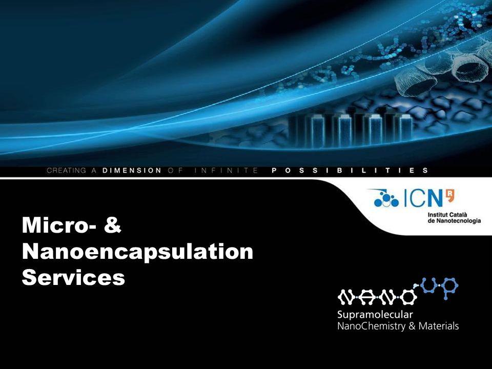 Micro- & Nanoencapsulation Services