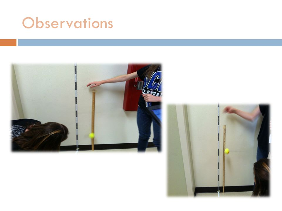 Observations Include any pictures of your lab setup or of your group completing the investigation.
