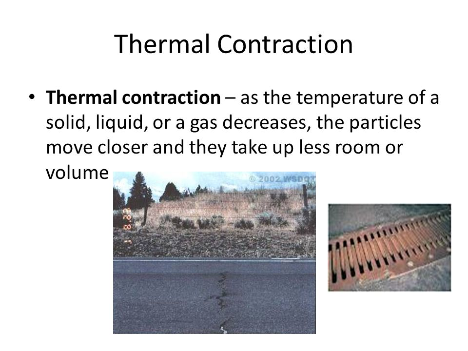 Thermal Contraction