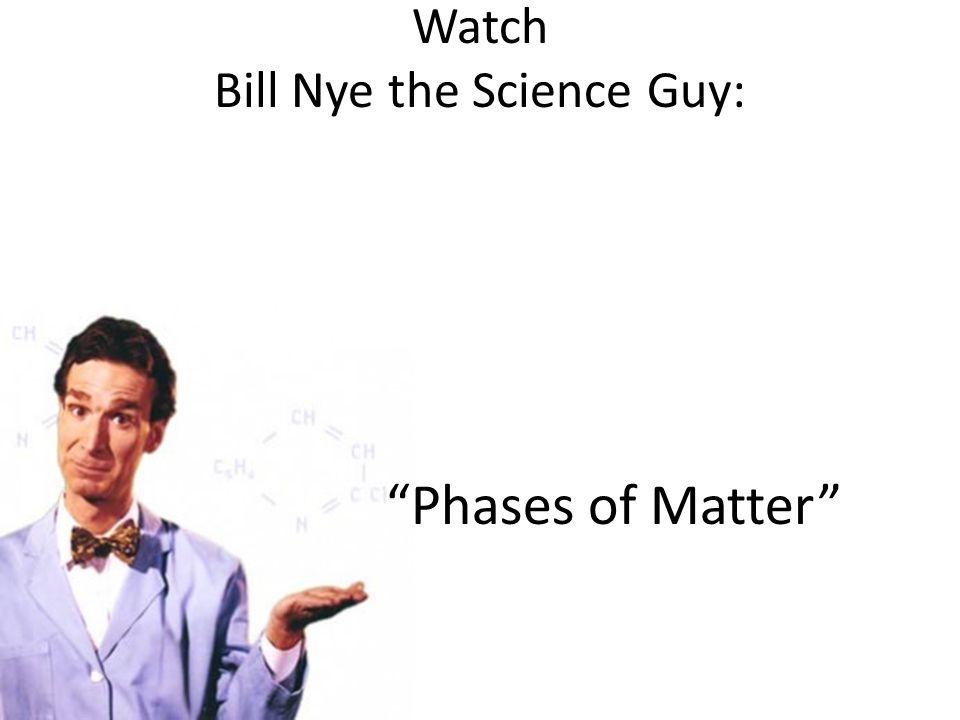 Watch Bill Nye the Science Guy: