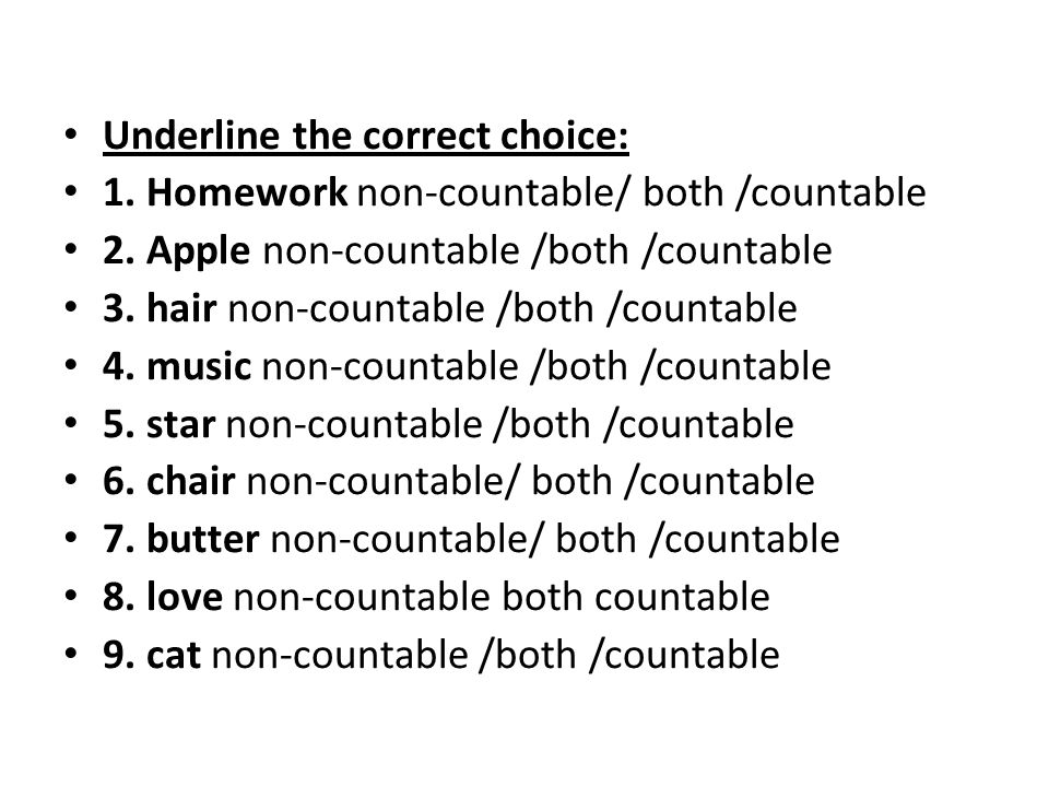 Underline the correct choice: