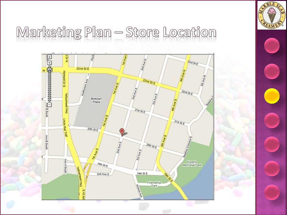 Marketing Plan – Store Location