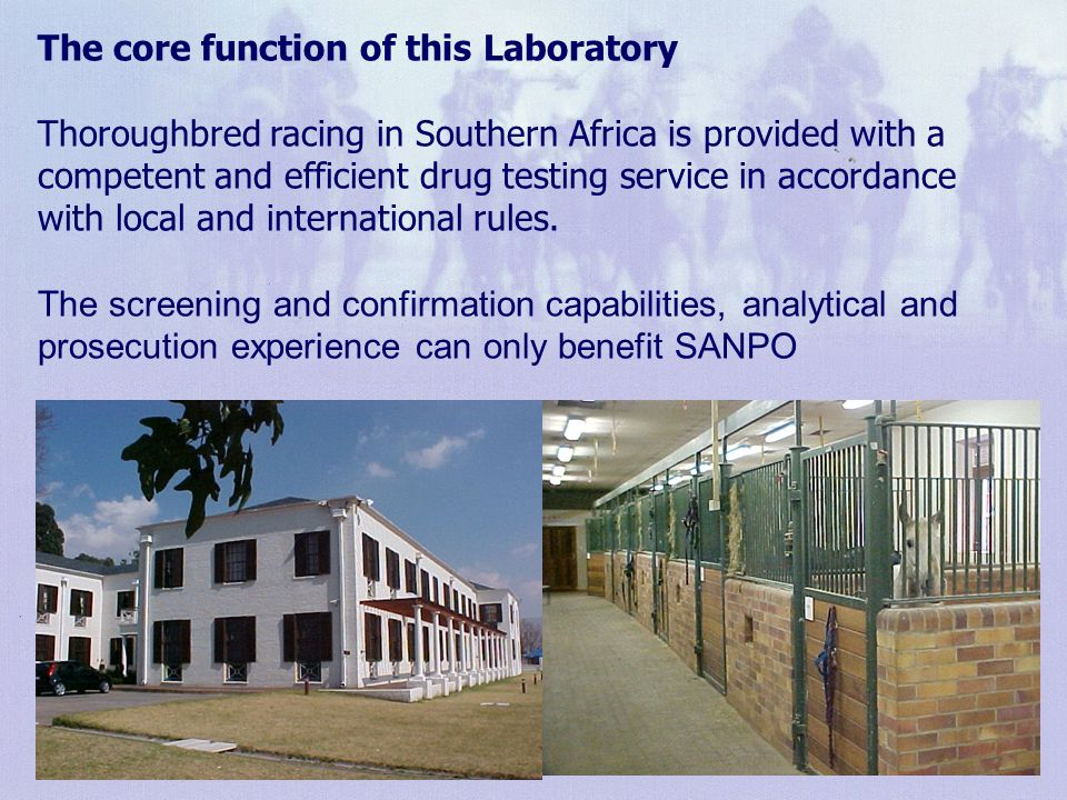 The core function of this Laboratory