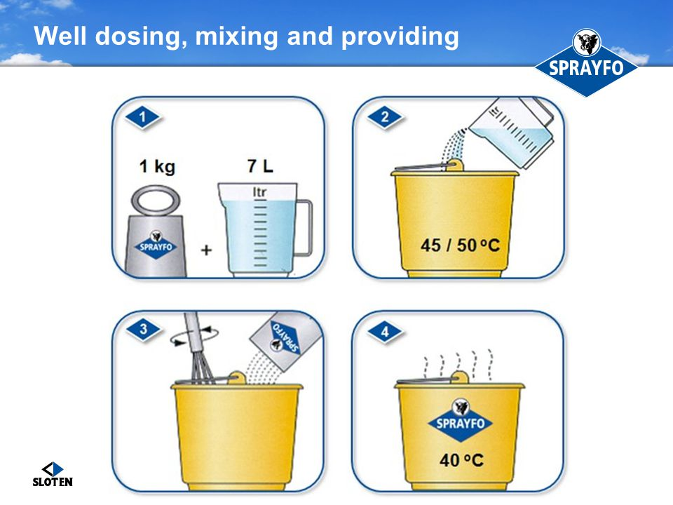 Well dosing, mixing and providing