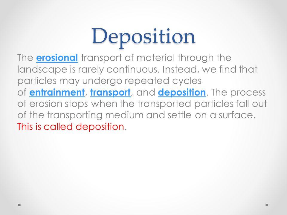 Deposition