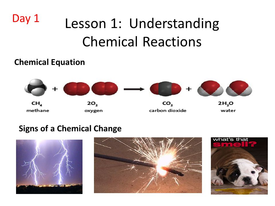 Lesson 1: Understanding Chemical Reactions