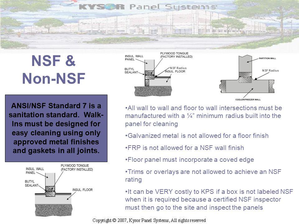 NSF & Non-NSF NSF Radius. NSF Radius.