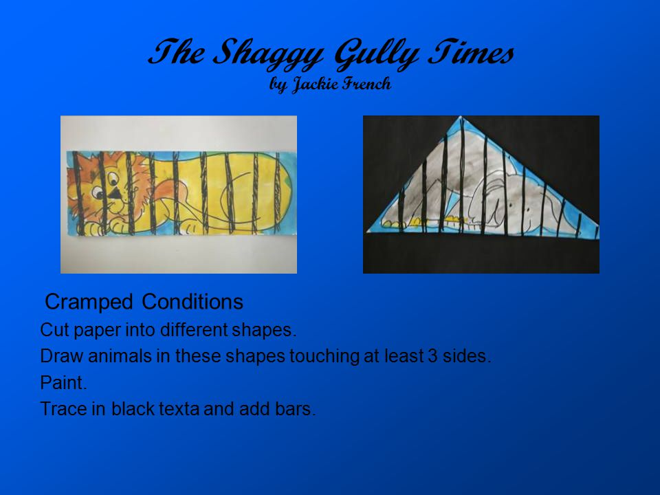 The Shaggy Gully Times by Jackie French