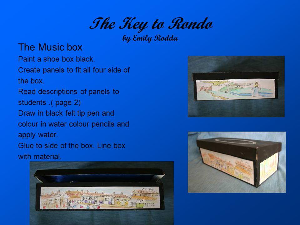 The Key to Rondo by Emily Rodda
