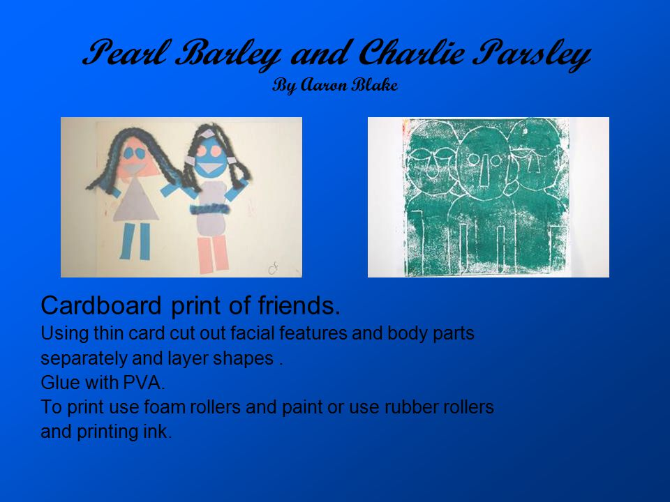 Pearl Barley and Charlie Parsley By Aaron Blake