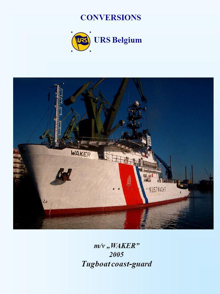 CONVERSIONS URS Belgium Tugboat coast-guard