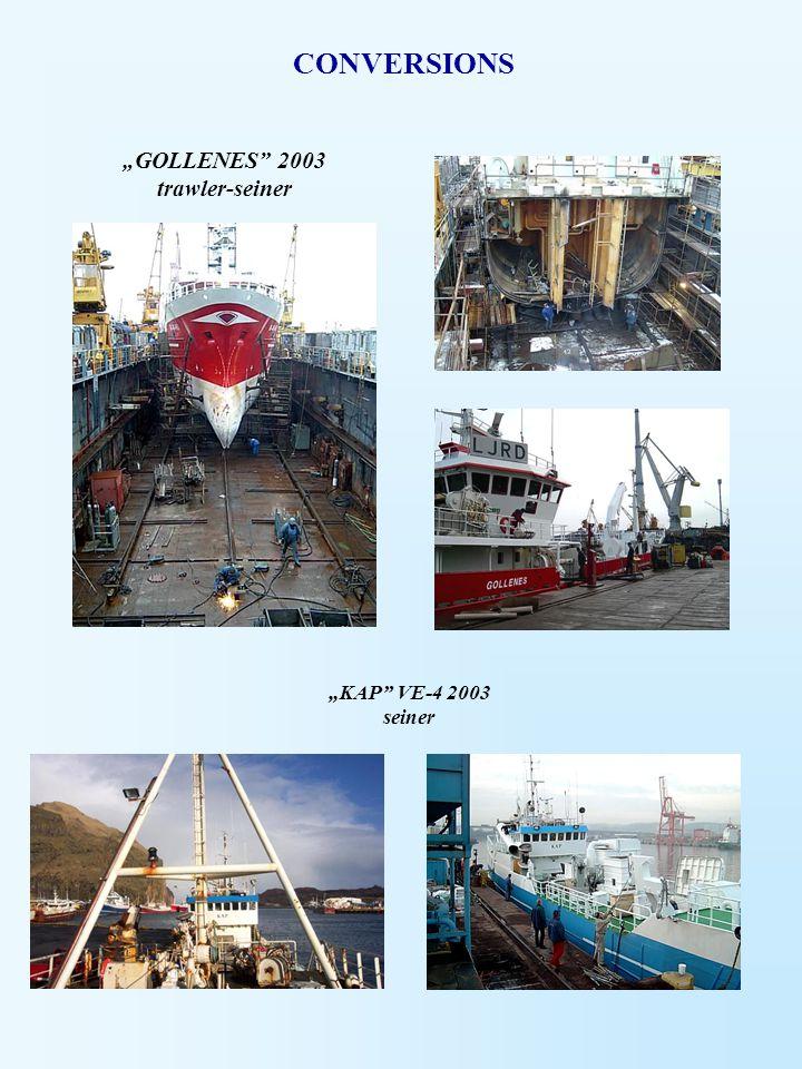 """""""GOLLENES 2003 trawler-seiner"""