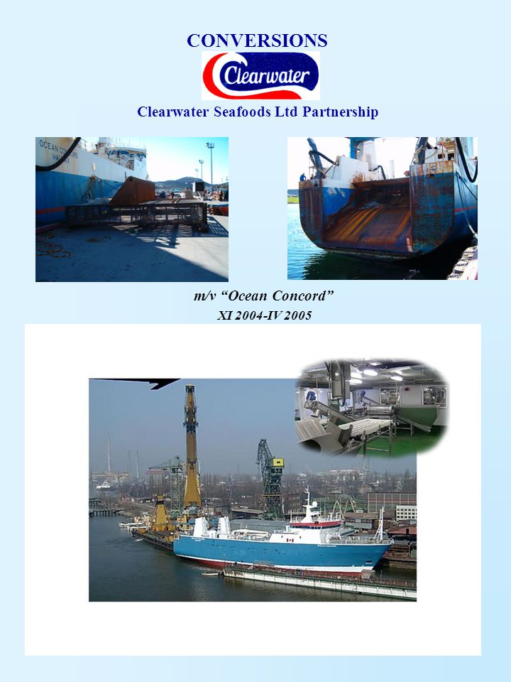 Clearwater Seafoods Ltd Partnership