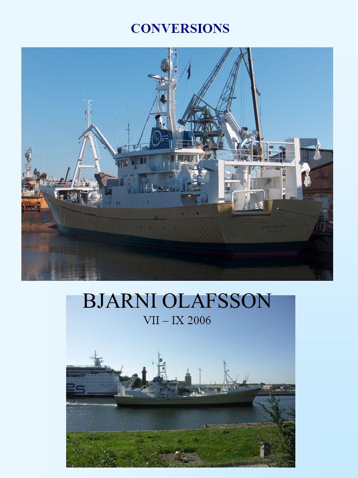 BJARNI OLAFSSON VII – IX 2006