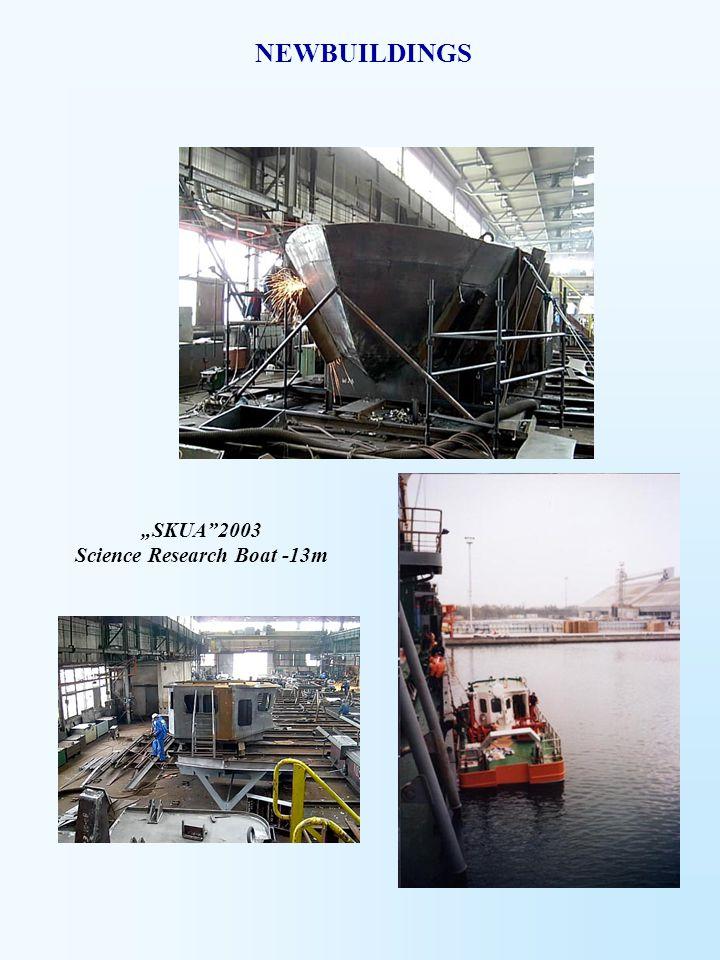"""SKUA 2003 Science Research Boat -13m"