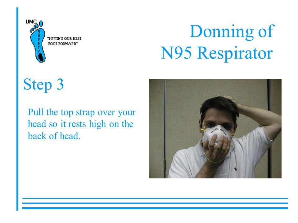 Donning of N95 Respirator