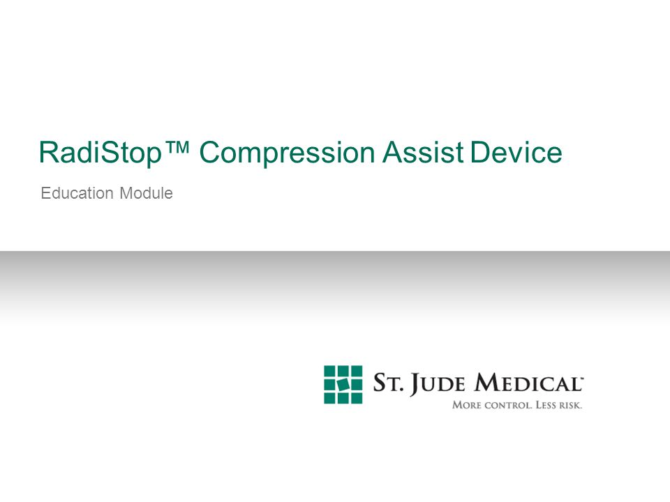 RadiStop™ Compression Assist Device