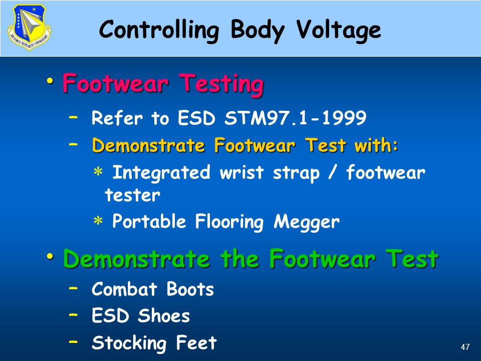 Controlling Body Voltage