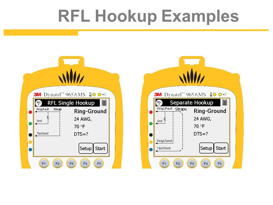 RFL Hookup Examples Resistance Fault Locate 4-10