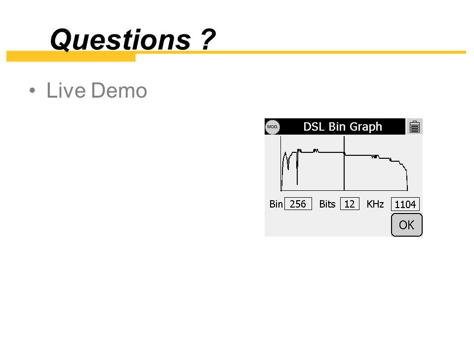 Questions Live Demo
