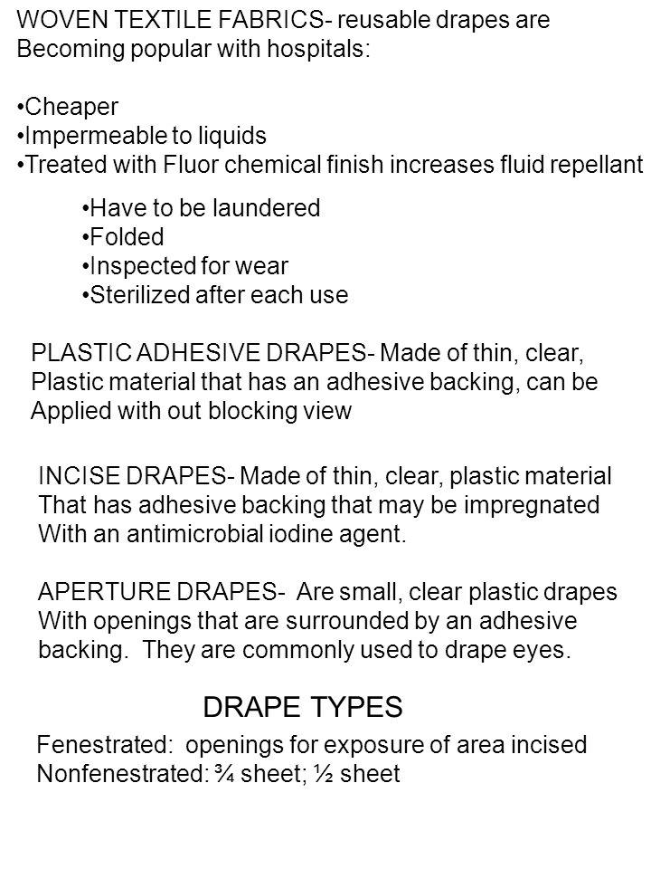 DRAPE TYPES WOVEN TEXTILE FABRICS- reusable drapes are