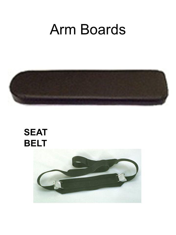 Arm Boards SEAT BELT