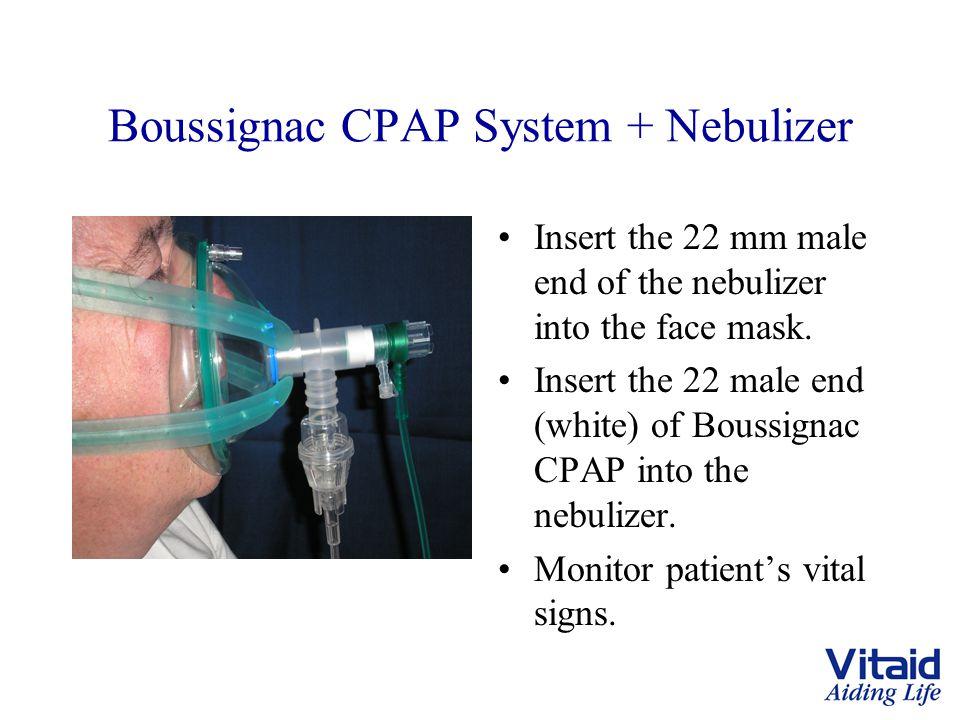 Boussignac CPAP System + Nebulizer