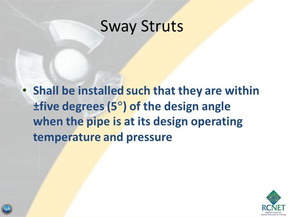 Sway Struts