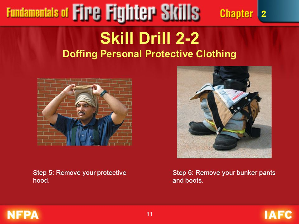 Skill Drill 2-2 Doffing Personal Protective Clothing