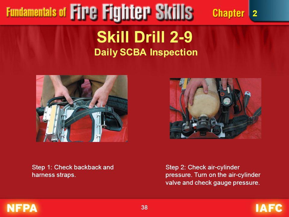 Skill Drill 2-9 Daily SCBA Inspection